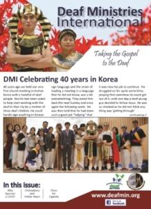 Deaf Ministries International Newsletter