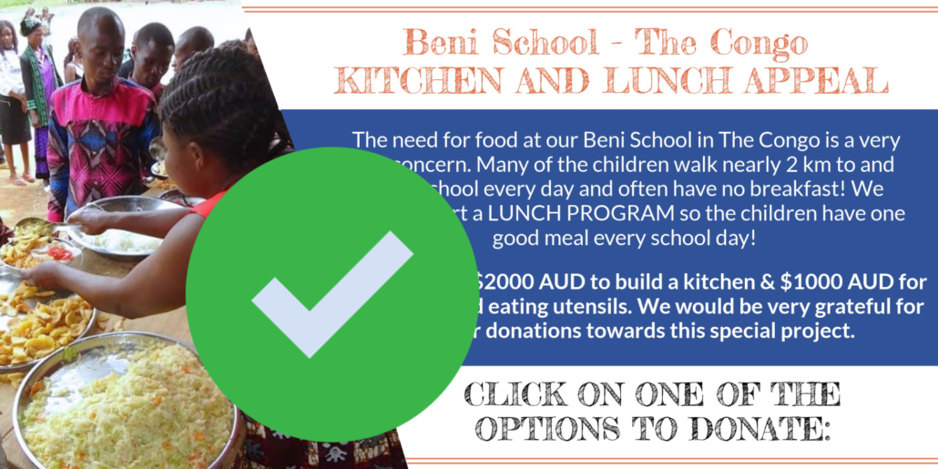 Beni Lunch Appeal complete
